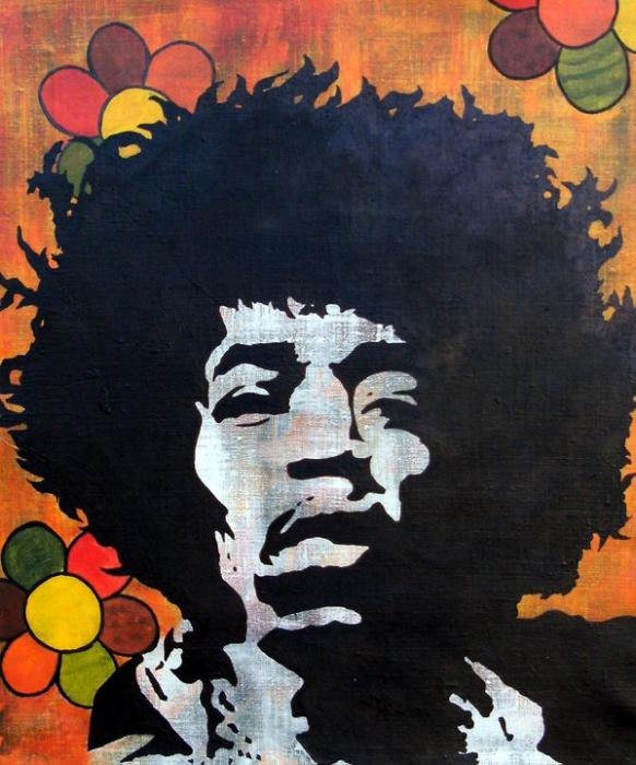 Jimi Hendrix by ArtofCia